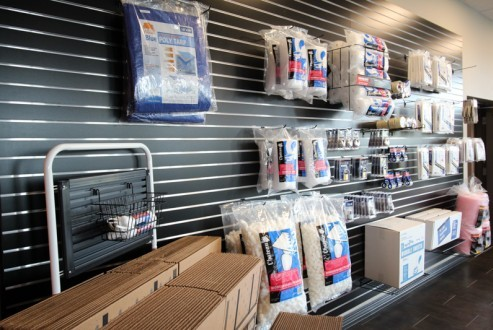 Self Storage of Spokane North Market packing supplies