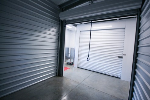 Self Storage of Spokane North Market Inside unit