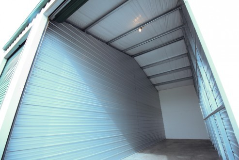 Interior storage unit