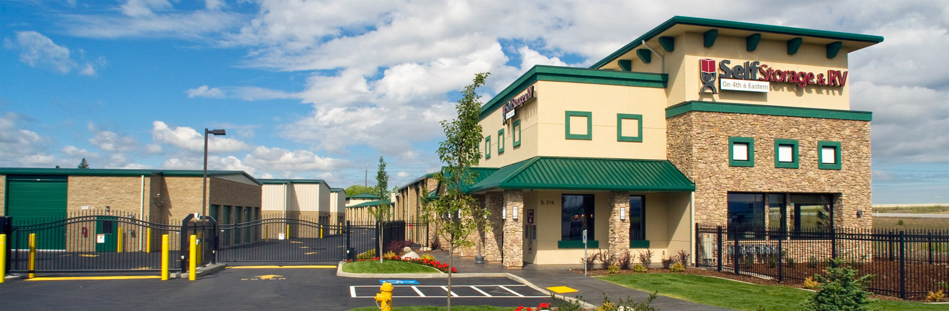 Self Storage Spokane Gated